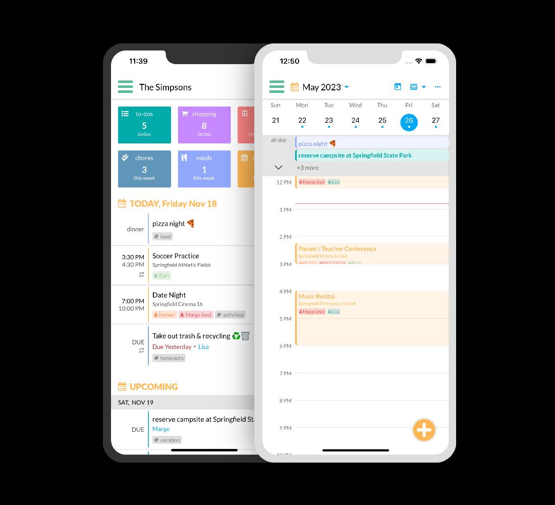 Kukini - Family Organizer App for Parents